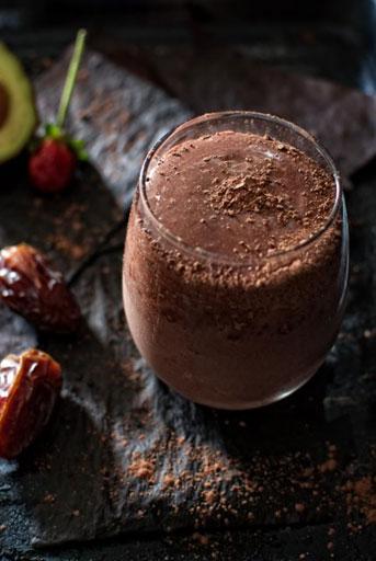 Smoothie με γεύση σοκολάτα!